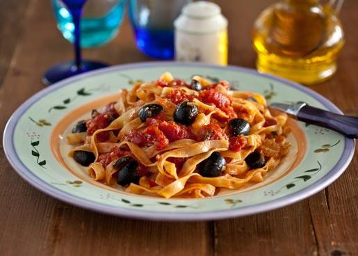 Тальятелле с томатным соусом | Рецепты с фото