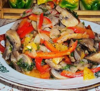 Теплый салат Афина Паллада | Рецепты с фото
