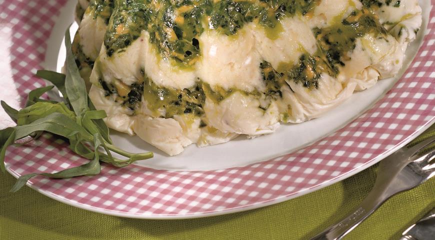 Террин из сыра со шпинатом | Рецепты с фото