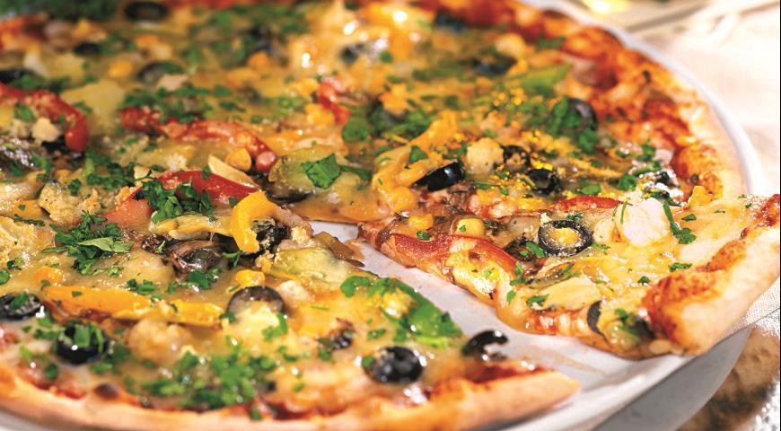 пицца рецепт готовим дома