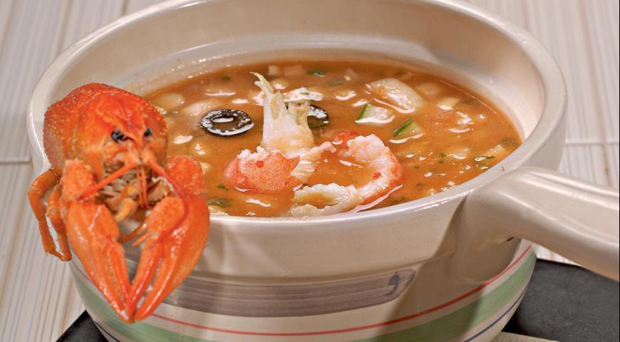 Томатный суп с раковыми шейками | Рецепты с фото