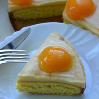 Торт Глазунья   Рецепты с фото