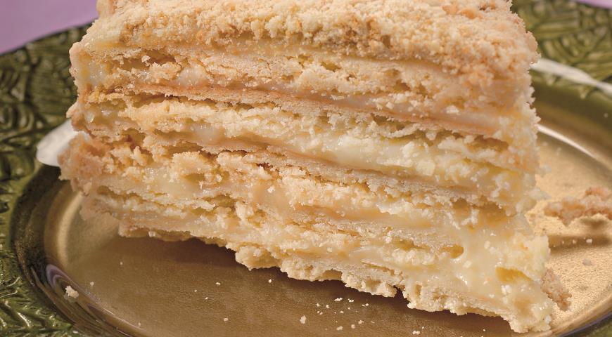 Торт Наполеон по-домашнему   Рецепты с фото
