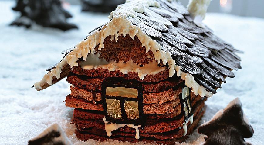 """Торт """"Дом в шоколаде""""   Рецепты с фото"""
