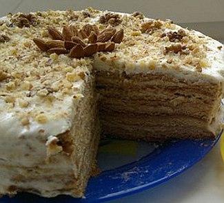 Торт Рыжик неклассический | Рецепты с фото
