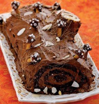 Торт Шоколадное полено | Рецепты с фото