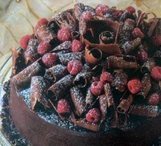 Торт Шоколадный триумф | Рецепты с фото