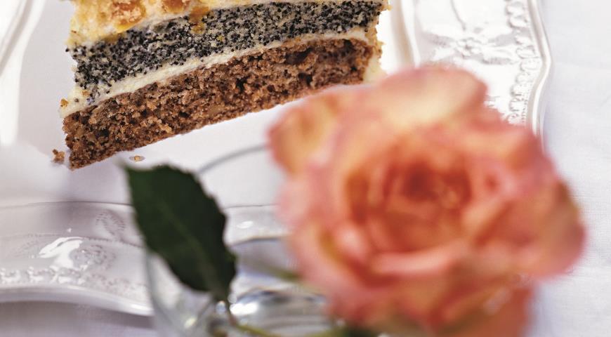 Торт трехслойный | Рецепты с фото