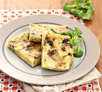 Тортилья, омлет с картофелем и грибами | Рецепты с фото