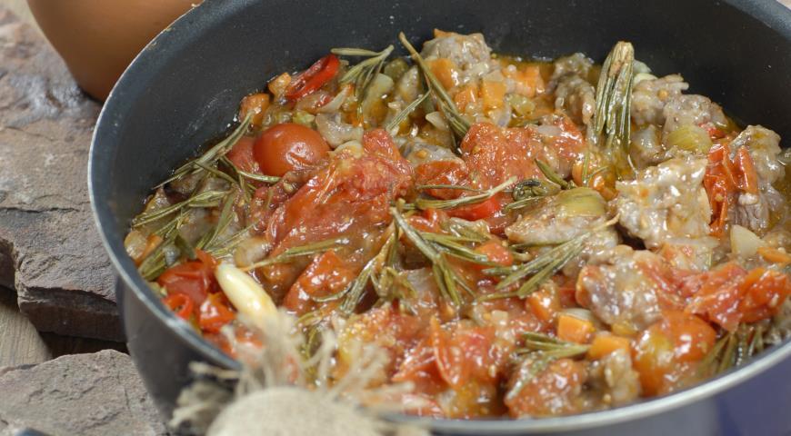 Тосканское мясное рагу | Рецепты с фото