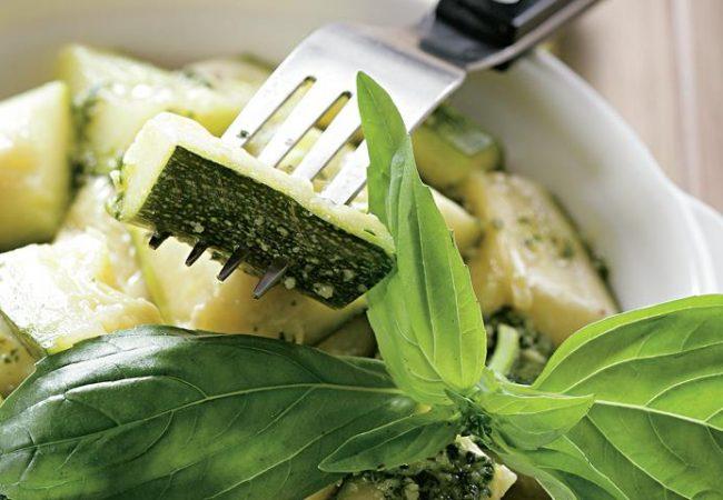 Цукини с чесночным маслом | Рецепты с фото