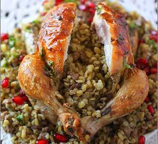 Цыплята фаршированные фрике | Рецепты с фото