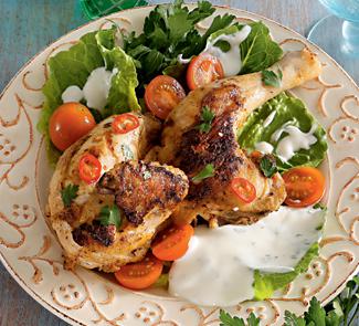 Цыплята на углях, сирийское блюдо | Рецепты с фото