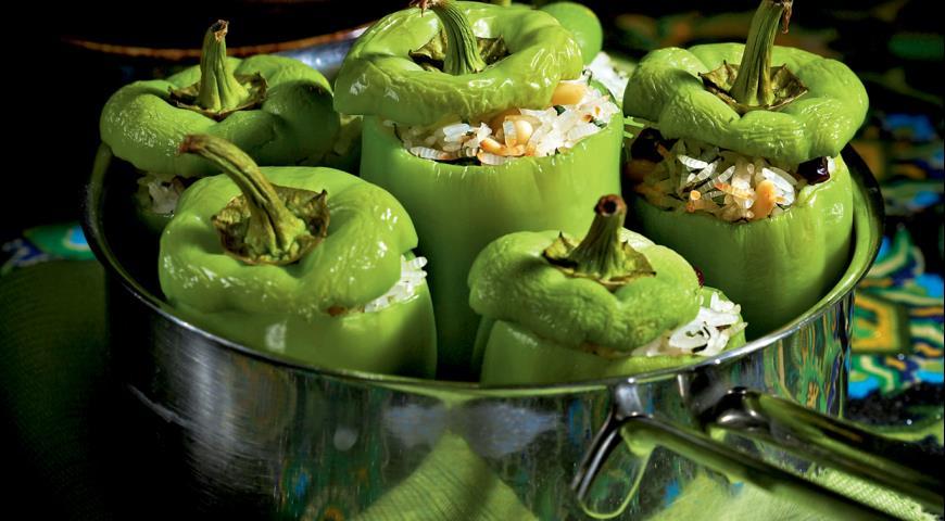 Турецкая долма из зеленого перца | Вкусные рецепты с фото ...
