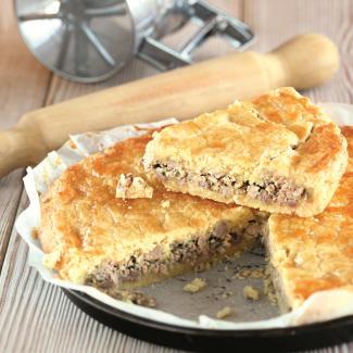 Туртьер - мясный пирог | Рецепты с фото