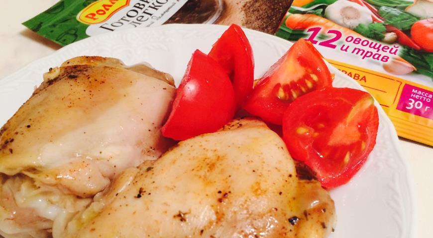 Тушеная курица по-табасарански   Рецепты с фото