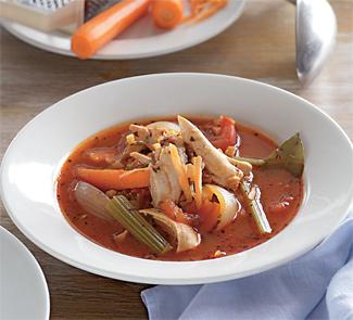 Тушеная курица с овощами по-валлийски | Рецепты с фото