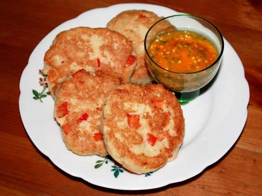Творожники со сладким перцем | Рецепты с фото