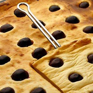 Творожный пирог с вишней | Рецепты с фото