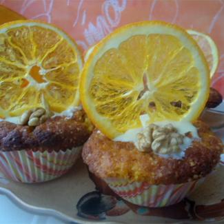 Тыквенные кексики | Рецепты с фото