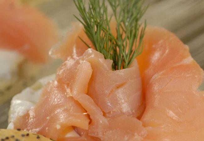 Укропные сконсы с лососем | Рецепты с фото