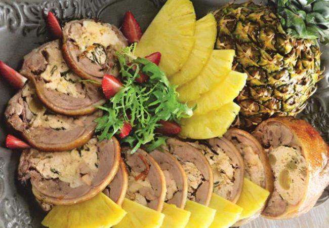 Утка в апельсиновой глазури с ананасами | Рецепты с фото