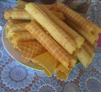 Вафли Аппетитные с заварным кремом | Рецепты с фото
