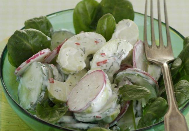 Весенний салат | Рецепты с фото