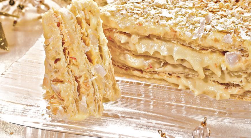 Восточный торт Наполеон | Рецепты с фото