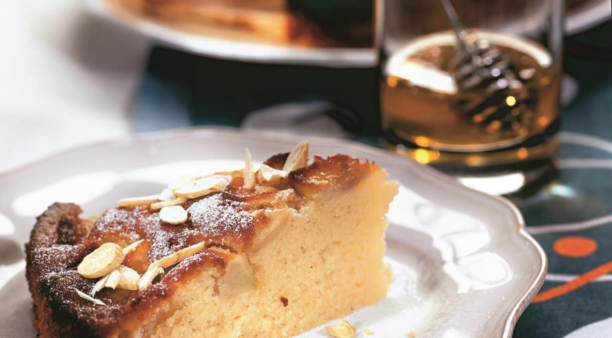 Яблочный пирог с медом | Рецепты с фото