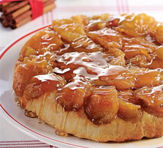 Яблочный пирог Татен | Рецепты с фото