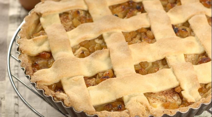 Яблочный торт с ванильным соусом | Рецепты с фото