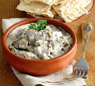 Закуска из баклажанов, ближневосточное блюдо | Рецепты с фото