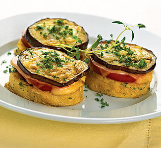 Закуска из баклажанов, помидоров и сыра | Рецепты с фото