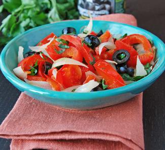 Закуска Мохет Манчего (Mojete Manchego - roast pepper and onion La Mancha style) | Рецепты с фото