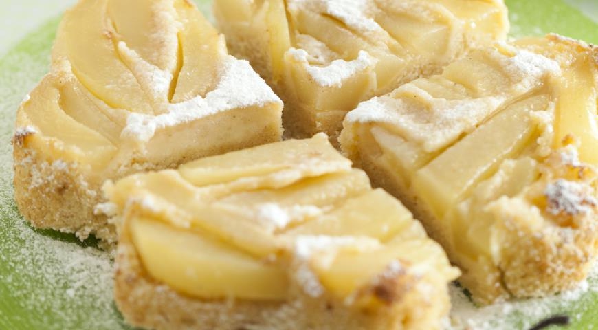 Заливной грушевый пирог | Рецепты с фото