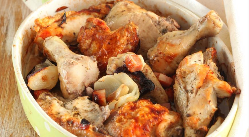 Запеченная курица по-деревенски | Рецепты с фото
