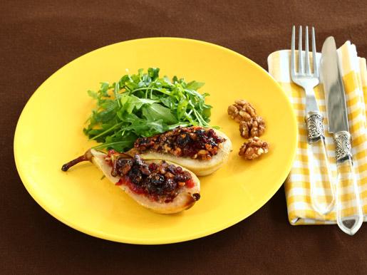 Запеченные груши с начинкой | Рецепты с фото