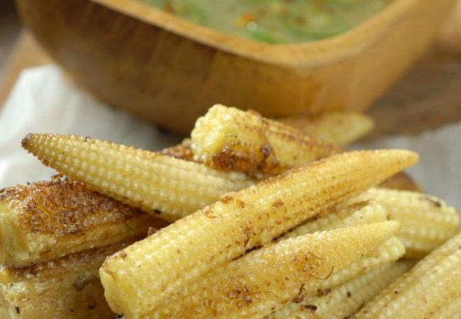 Запеченные кукурузные початки | Рецепты с фото