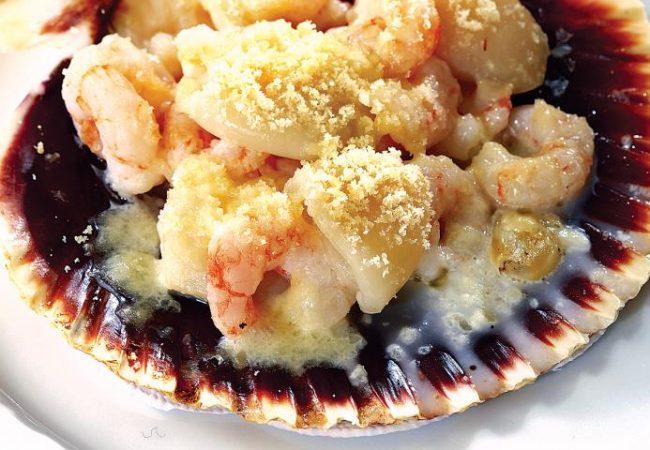 Запеченные морепродукты | Рецепты с фото