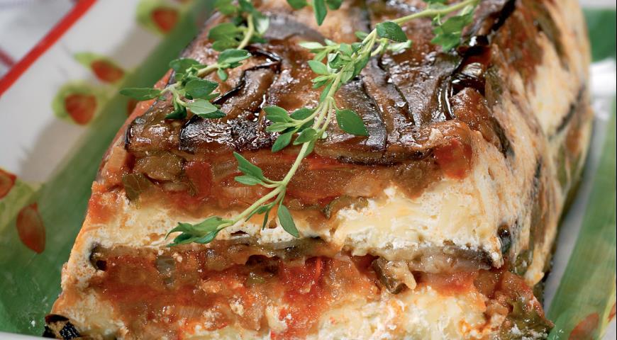 Запеканка из баклажанов с помидорами | Рецепты с фото