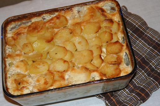 Запеканка из рыбы с картофелем | Рецепты с фото