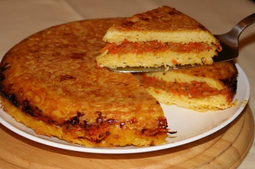 Запеканка из вермишели с овощной начинкой | Рецепты с фото