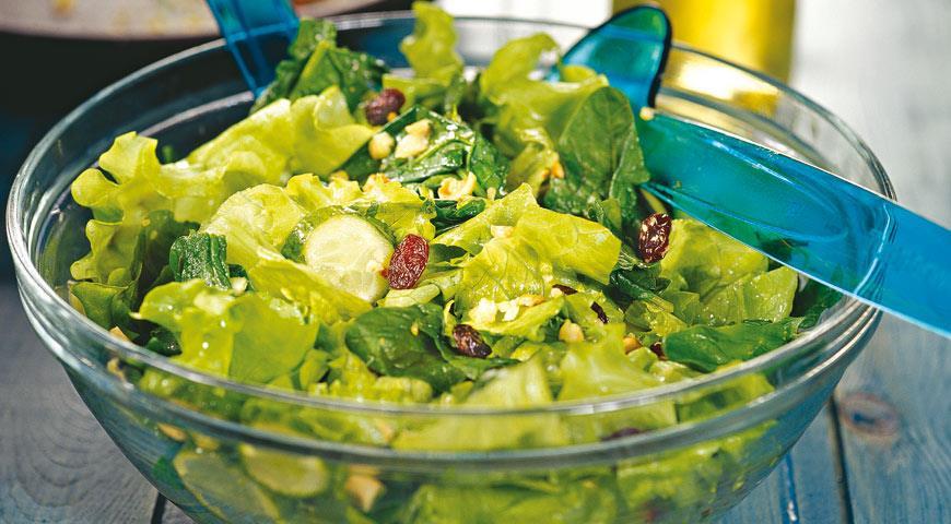 Рецепты зеленых салатов с фото