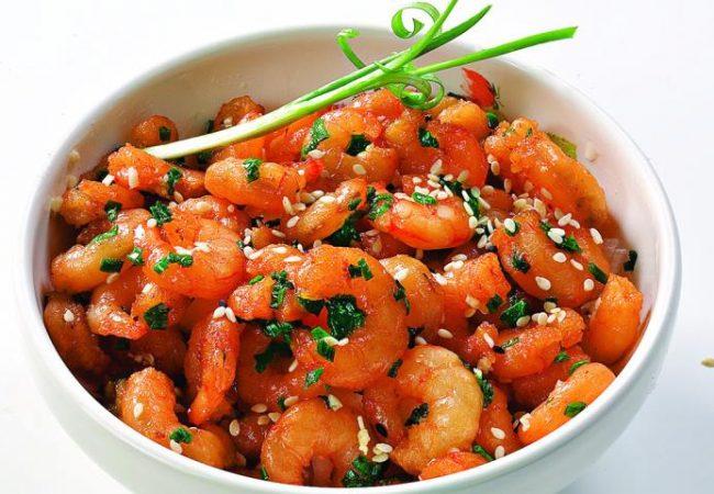 Жареные креветки по-корейски | Рецепты с фото