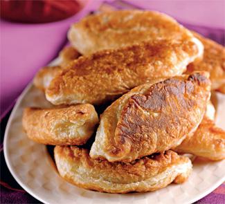 Жареные пирожки с груздями | Рецепты с фото