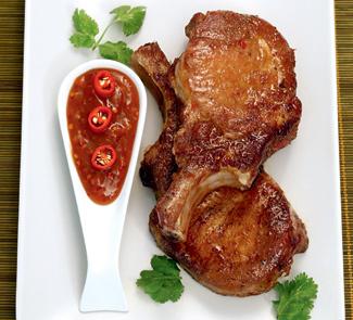 Жареные свиные отбивные в маринаде по-вьетнамски | Рецепты с фото